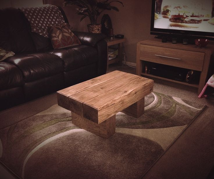 13 best Chunky Oak Tables images on Pinterest Carpentry Railroad