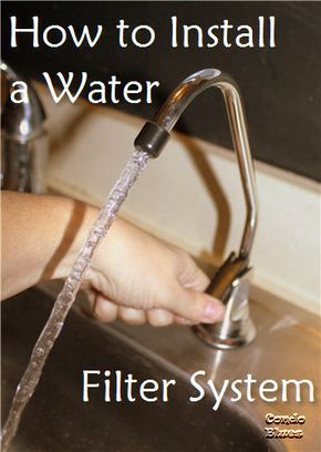 How to Install an Under Sink Water Filter Faucet