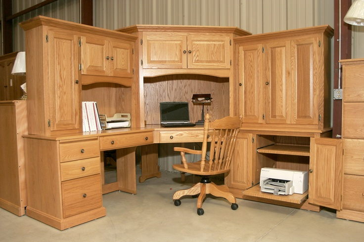 Now THIS is a desk! Get it at Swiss Valley Furniture!