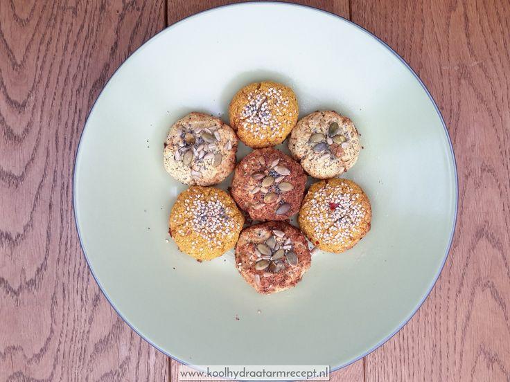 kruidige bloemkoolbroodjes rechtstreeks uit de oven