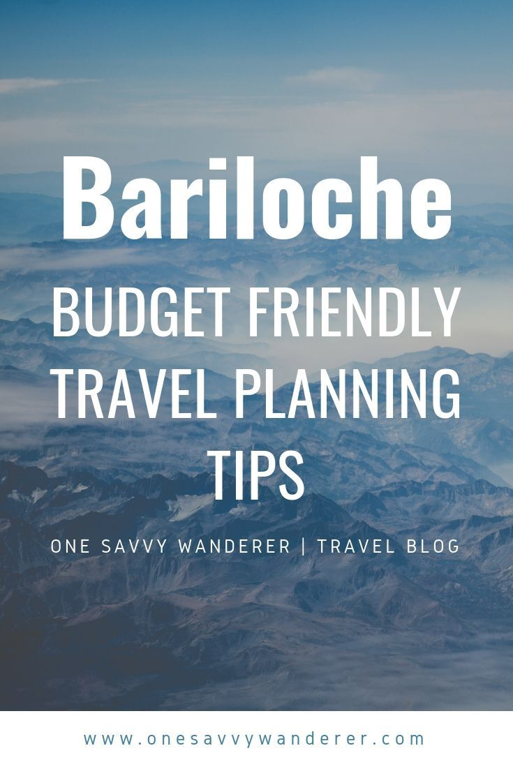 Visit Bariloche Bariloche Trip Planning How To Plan