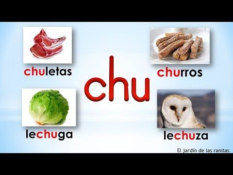 # 18 Sílabas cha che chi cho chu - Syllables With Ch - YouTube