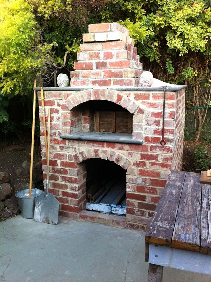 how to make a pizza oven in your backyard
