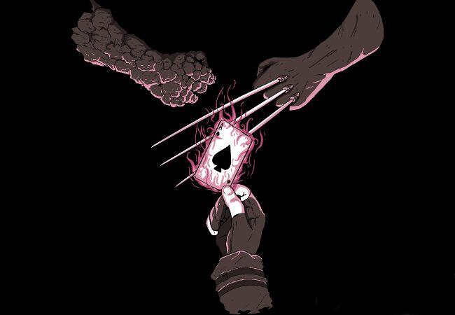 Wolverine, Coisa e Gambit Jokenpo