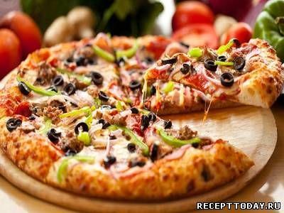 Рецепт Жидкое тесто для пиццы
