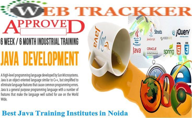 Webtrackker Technology is offering high-quality #Best_java_Training_Institute_in_Noida for all students & learners at price powerful rates. Here all students are attractive a member of for great grades and for better effects. So in case you are seeking out the fine web designing training institute in noida the Webtrackker generation is the best alternative for you.