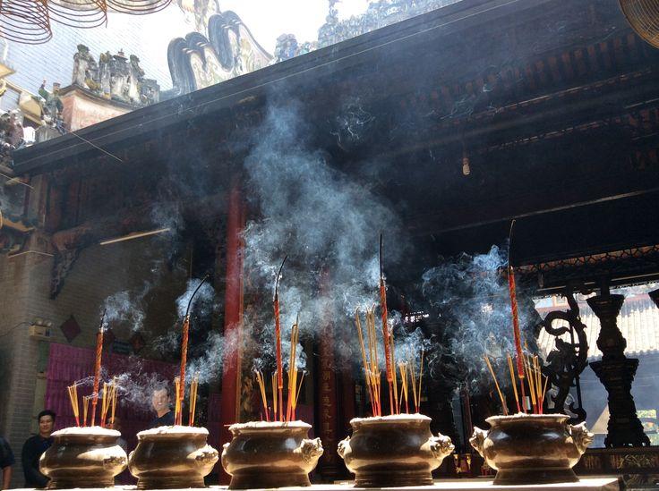 Smoking in Saigon ;)
