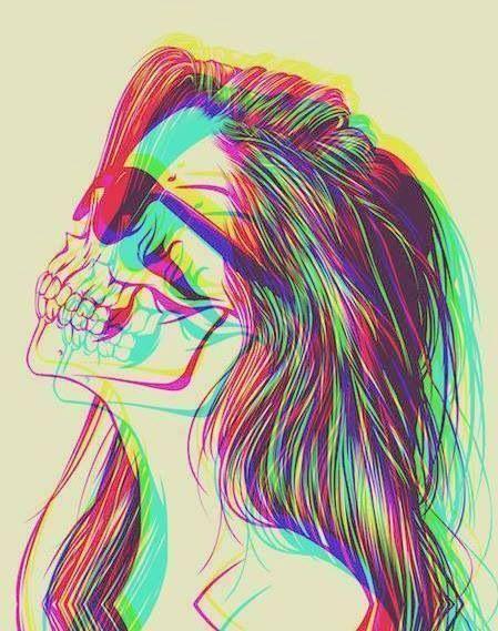 Damn. girl tattoo drawing photo