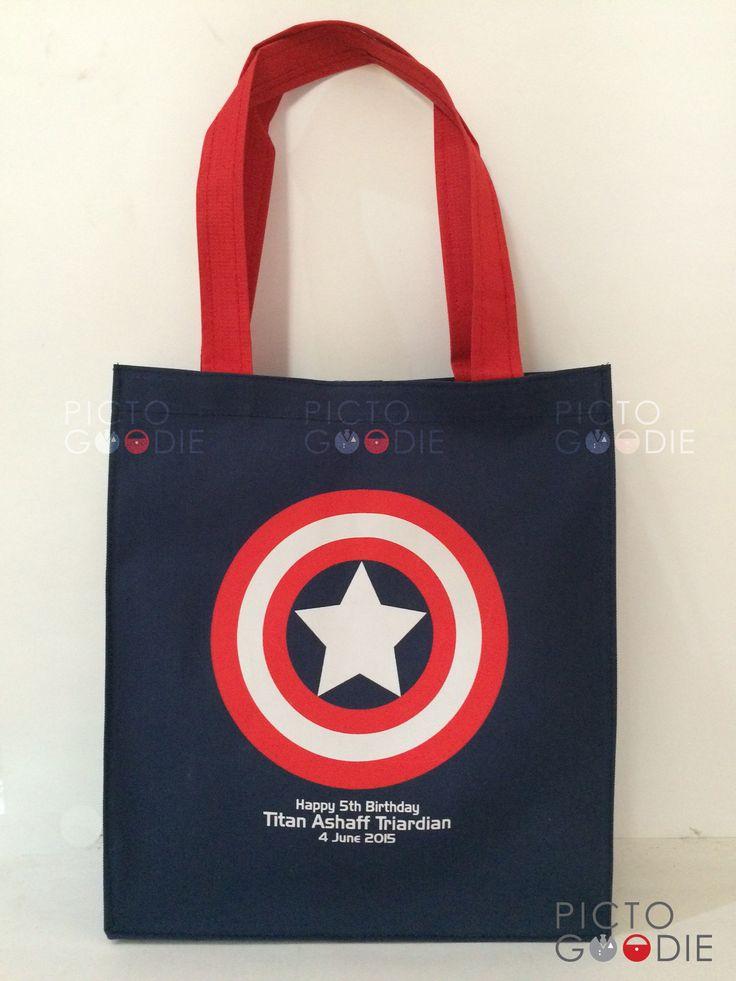 Tas Jinjing Ultah - Captain America Theme