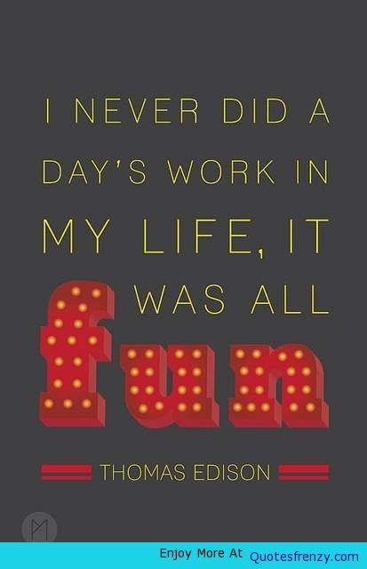 account of the life and works of thomas edison This lesson will teach you about the life of thomas edison, a famous american inventor it will go over his childhood, early careers, and the.