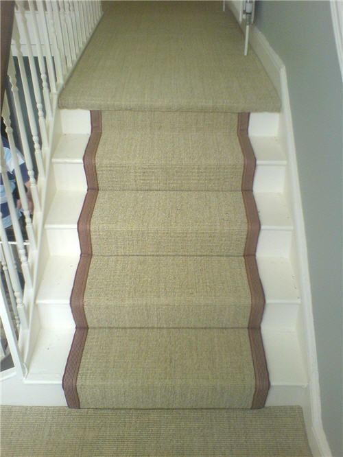 This Is A Crucial Trading Sisal Carpet Fitted To A