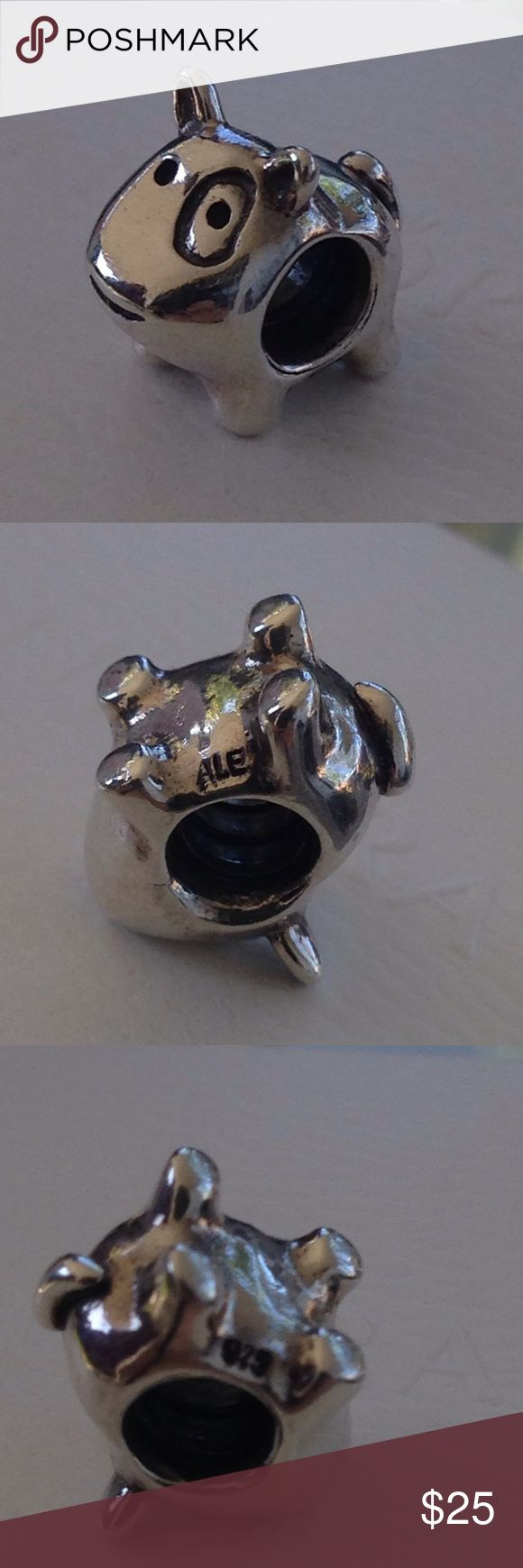 Authentic Pandora Dog Charm Authentic Pandora- great condition!! Super cute! 🐶👍🏼😀 Jewelry Bracelets