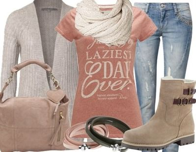Casual-outfits Luie zaterdag!