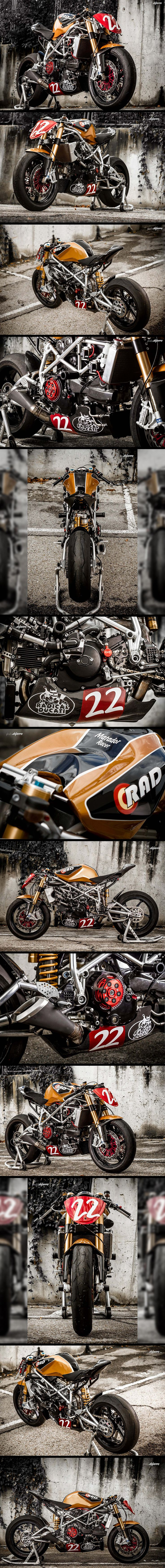 "Ducati 1198 ""The Matador"" by XTR Pepo"