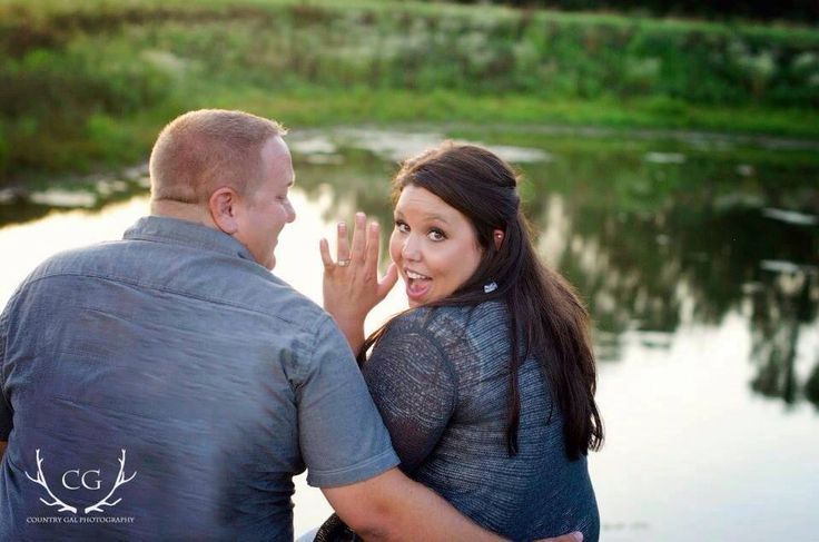 #engagement #pond #dock #sunset #ring