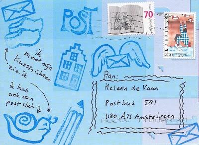 Stempelpost voor Heleen