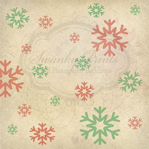 Textured Snowflakes - Oz Backdrops and Props