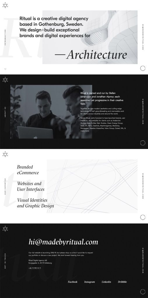 Site of the day: Ritual Digital Agency  See more: https://mindsparklemag.com/website/ritual-digital-agency/  Ritual Digital Agency is a beautifully designed site that is featured as Site of the Day on design blog Mindsparkle Mag