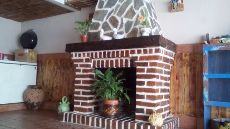 Como hacer una Chimenea - How to make a fireplace