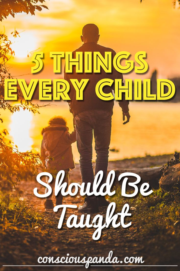 5 Things Every Child Should Be Taught