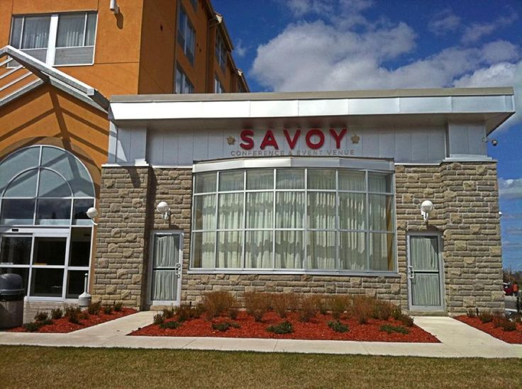 The beautiful exterior of Savoy Event Venue!