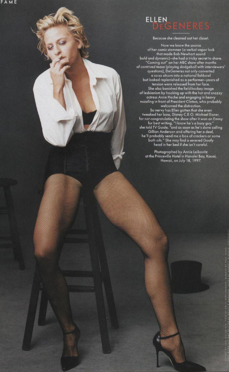 Ellen DeGeneres - those legs!! Who knew?