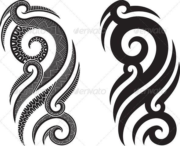 Gallery For > Simple Maori Designs