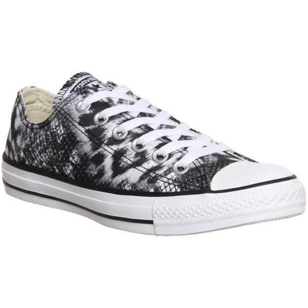 Converse All Star Low (€29) ❤ liked on Polyvore featuring shoes, sneakers, converse, leopard mimaki, trainers, unisex sports, canvas low top sneakers, leopard print shoes, sports trainer and canvas trainers