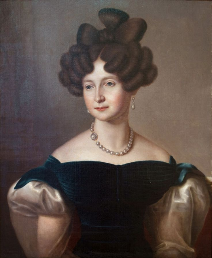 Anna Pavlovna, Queen of the Netherlands, Grand-Duchess of Russia, by Jean-Baptiste van der Hulst