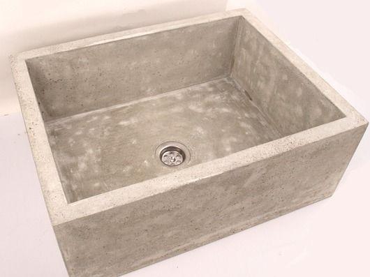 dodatki - łazienka-umywalka z betonu średnia