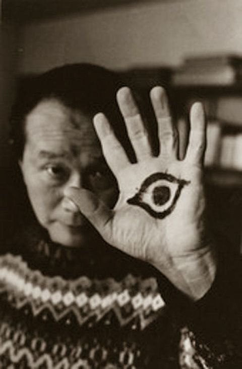 Taro OKAMOTO (1911~1996), a Japanese artist noted for his abstract and avant-garde paintings and sculpture. 岡本太郎