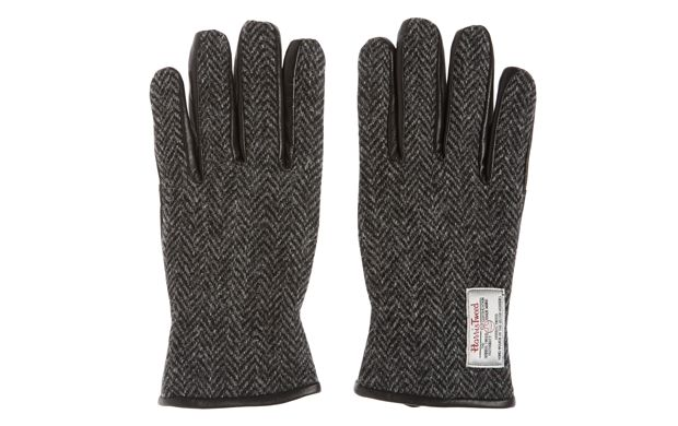 """Premium Leather Winter Gloves. """"When the weather cools, these classic tweed gloves are a smart and stylish way to keep your hands warm."""""""