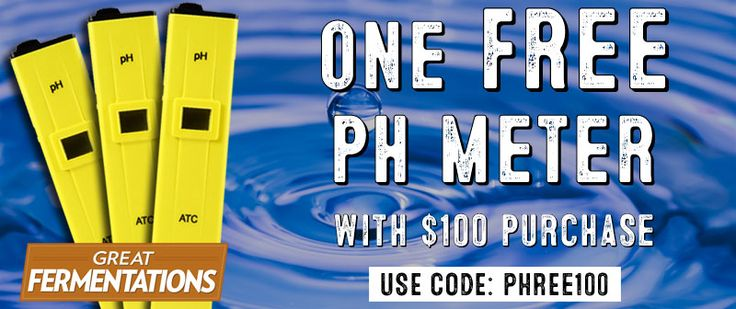 FREE pH Meter w/Great Fermentations Order | Homebrew Finds