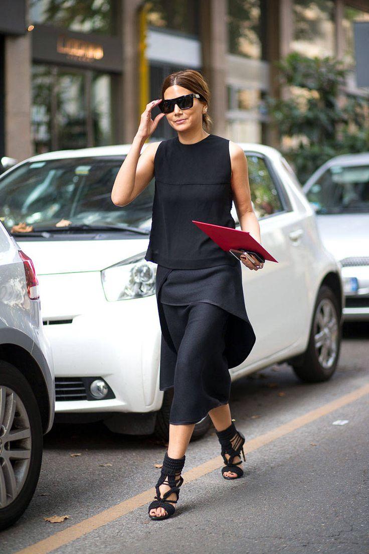 Christine Centenera 【Vogue-Australia編集長】 | Street Style - Milan Fashion Week Street Style