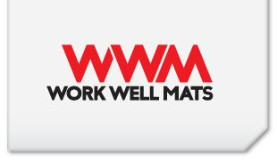 Work Well Mats is a leader in innovative underfoot and matting solutions focused on maximising safety and comfort in the industrial workplace.