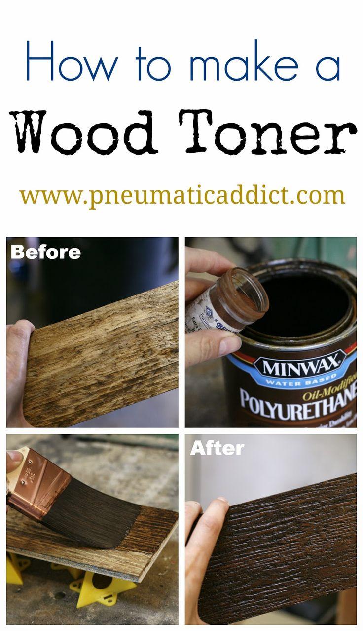 How to Make a Wood Toner- www.pneumaticaddict.com