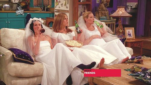 """When the girls dressed up to stay in 