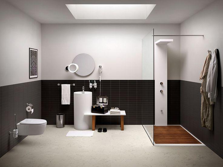 #design moderno ed essenziale, ma per questo non povero di #stile ed attenzione per i dettagli www.gasparinionline.it #interiorstyling #home #arredamento #italiandesign #bagnoarredo - www.gasparinionline.it