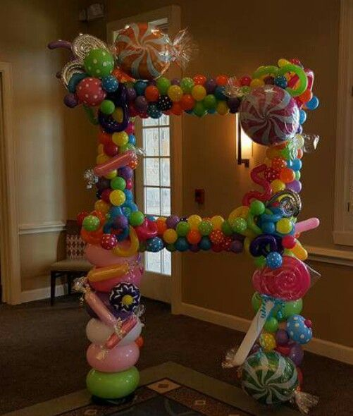 Candy picture frame