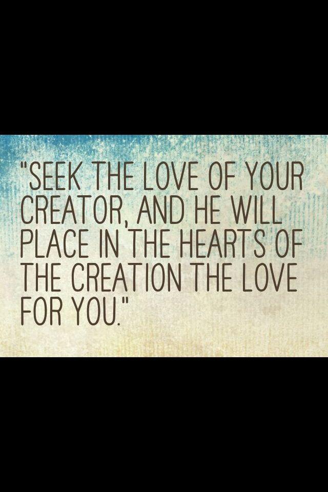 Ya Allah I love YOU