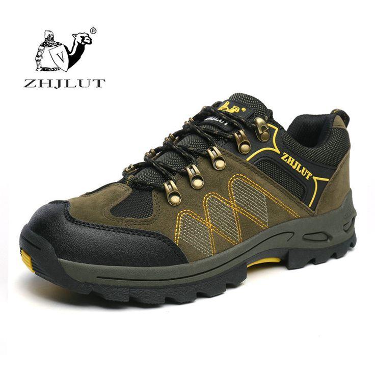 ZHJLUT Big Size 36~47 Outdoor Men Climbing Hiking Shoes Men Ventilator Hunting Trekking Women Hiking Shoes Senderismo Sapatos #Affiliate