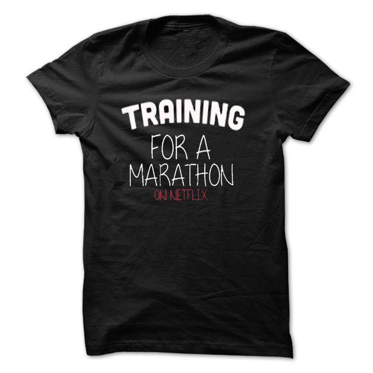 Nice Tshirt (Tshirt Top Tshirt Deals) Training for a Marathon  T-Shirt LifeStyle.  - Coupon 10%