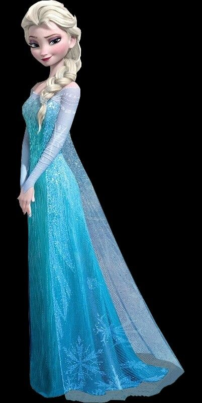 Love this picture of Elsa! She looks sassy! :)