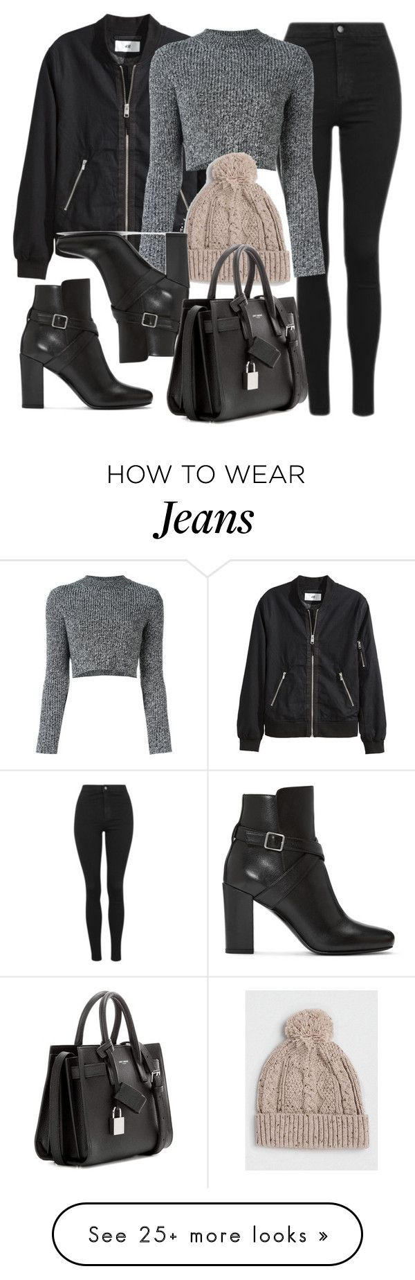 """Style #11584"" by vany-alvarado on Polyvore featuring Topshop, Carven, Topman and Yves Saint Laurent"