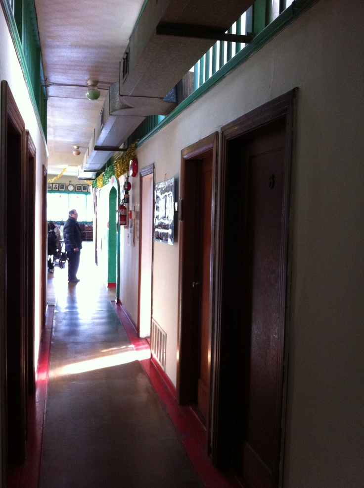 Hallway of the Lim Benevolent Association