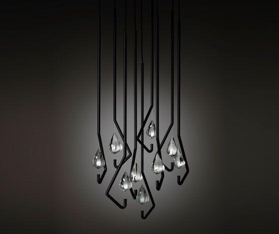 one crystal chandelier | thomas feichtner for lobbyer
