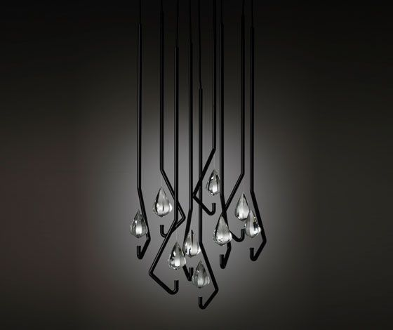 one crystal chandelier | thomas feichtner for lobbyer