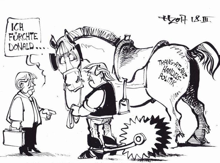 Karikaturen März 2017 - Karikaturen-Galerie - Rhein-Zeitung
