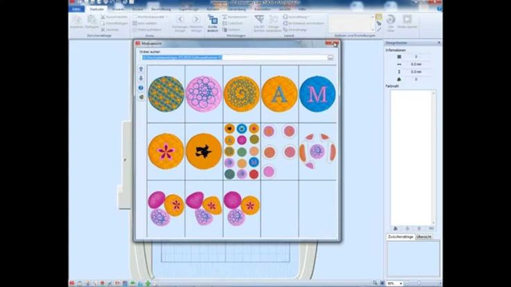 Quilt Creator Designs Included With Software