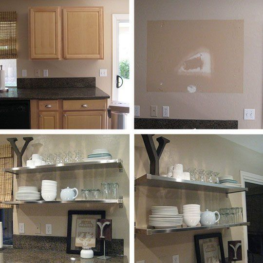 Shelves For Kitchen Cabinets: 1000+ Ideas About Open Shelf Kitchen On Pinterest